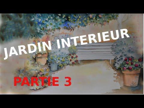 DES FLEURS DANS UN JARDIN INTÉRIEUR - PARTIE 3