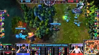 League of Legends VB Döntő 2014 - Lurdy Mozi közvetítés - 1 / 3