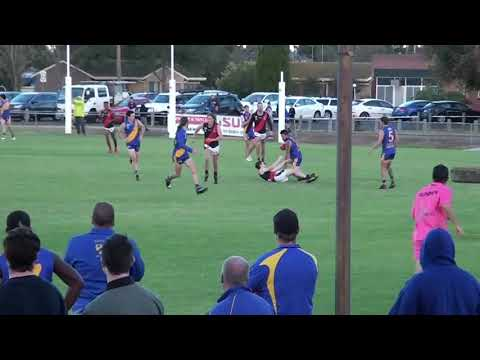 Rd 4   North Shore Kick ins vs Newtown Chilwell