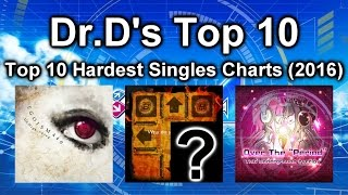 Dr.D's Top 10 Hardest DDR Songs Singles (2016)