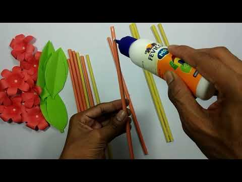 Wall Decoration idea with paper || DIY Craft Idea For Decoration || Paper Craft