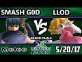 S@X Maylee Monthly - Smash G0D (Marth) Vs. Llod (Peach) SSBM Grand Finals - Smash Melee