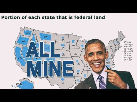Trump Looks At Obama's Monumental Land Theft