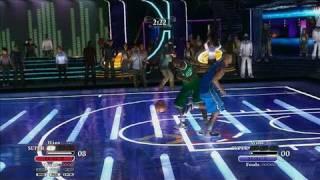 NBA Ballers: Chosen One Xbox 360 Gameplay - KG vs. Dwight