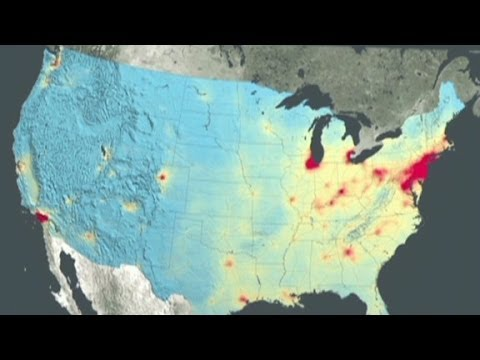 NASA: U.S. Air Quality Improving