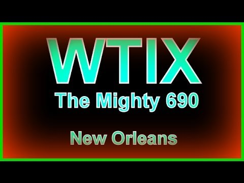 WTIX 690 AM Radio, New Orleans, Ed Ripley Aircheck, June 5, 1962