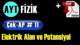 Elektriksel Kuvvet  Elektriksel Alan +PDF  AYT Fizik Çek-AP 11 çekap aytfizik