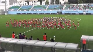 20150214 日本(U22) シンガポール(U23)戦 チアパフォーマンス ロングバージョン