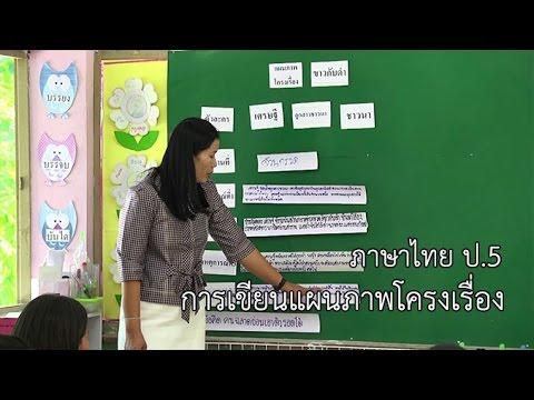 ภาษาไทย ป.5 การเขียนแผนภาพโครงเรื่อง ครูธนัชา ไกรอนุพงษ์