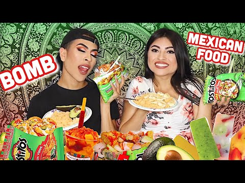 ULTIMATE MEXICAN FOOD MUKBANG   Louie's Life