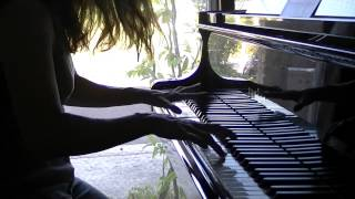 エヴァンゲリオンの次回予告で流れるBGM曲<Peaceful Times>をピアノに...