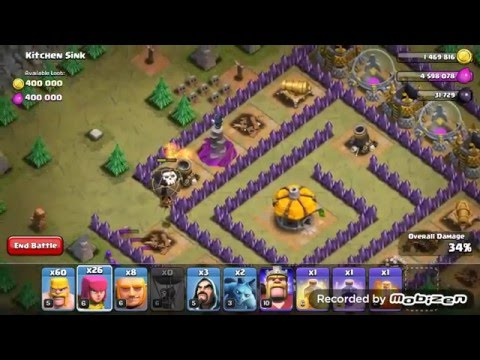 Clash Of Clans: How To 3 Star Kitchen Sink