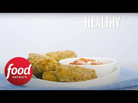 Better For You Mozzarella Sticks Food Network Youtube