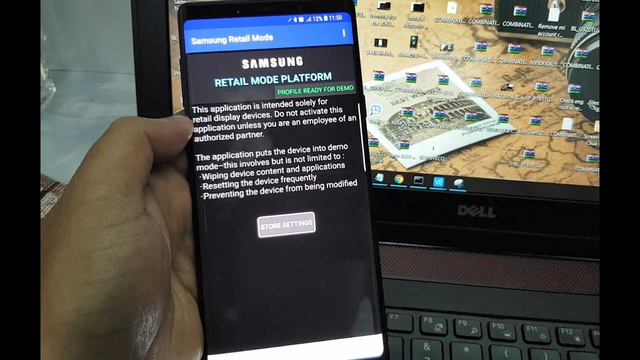 Remove MDM Retail Mode Samsung Galaxy Note 9 N960U N960F Success