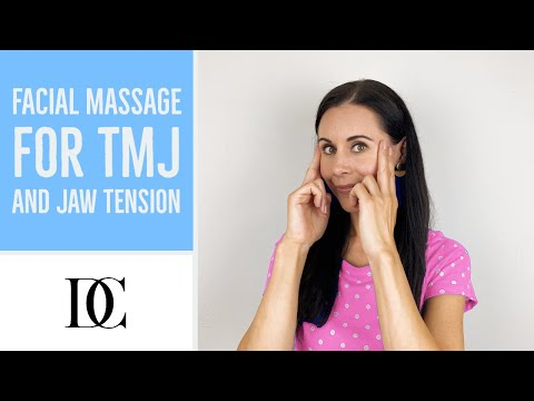 Facial Massage For TMJ And Jaw Tension