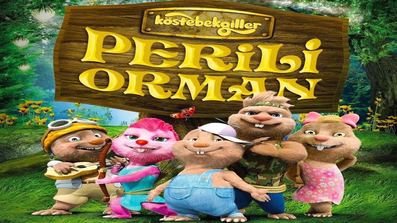 Köstebekgiller: Perili Orman Türkçe Dublaj Animasyon Filmi | Full Film İzle
