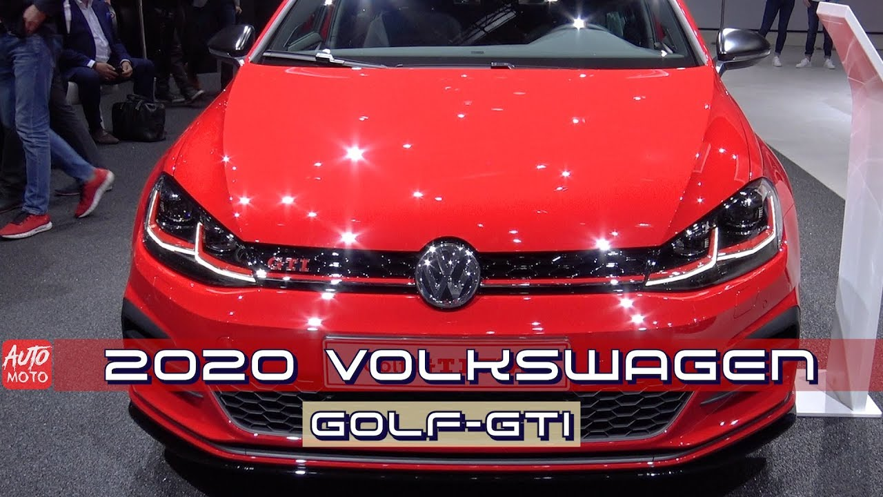2019 2020 Volkswagen Golf Gti Tcr 290hp Exterior And Interior 2019 Geneva Motor Show