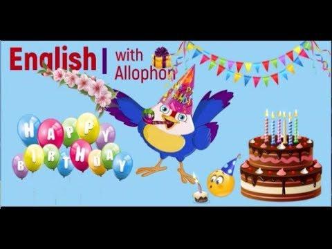 Поздравления с Днем Рождения  на английском с переводом