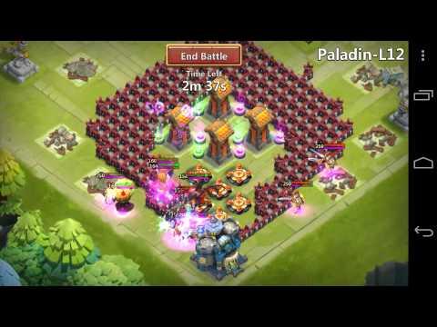 Castle Clash - Hero Trials L12