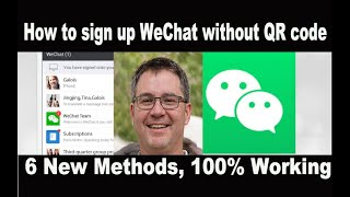 Sign can without number phone wechat up i How to