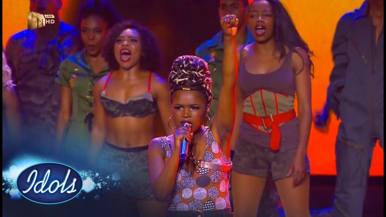 Top 7 Showstopper: Yanga -  'Not Yet Uhuru' – Idols SA | Mzansi Magic