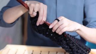 Пряжа WOOL & MANIA. Толстая пряжа. Уроки вязания.
