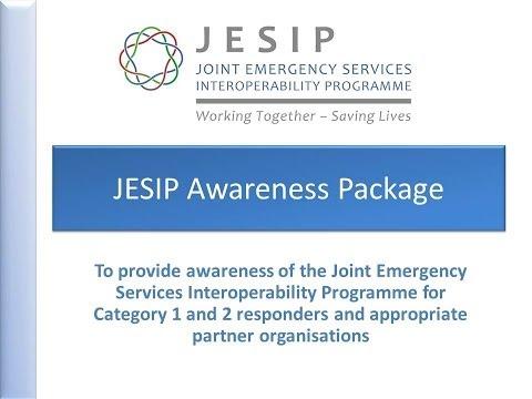 JESIP Wider Responder Awareness Presentation