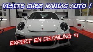 JE DECOUVRE LE DETAILING CHEZ MANIAC AUTO 😀 Episode 1