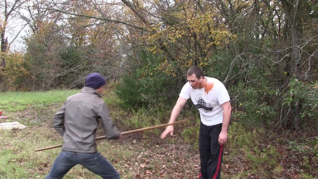 How to use a Bo Staff like Morgan (Walking Dead) – Combat Bo Strikes