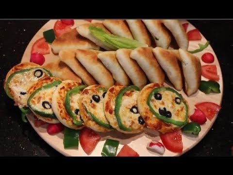 صورة  طريقة عمل البيتزا أطرى وأشهى عجينة لكل المعجنات - عجينة السبانخ والبيتزا و الجبنة الطرية طريقة عمل البيتزا من يوتيوب