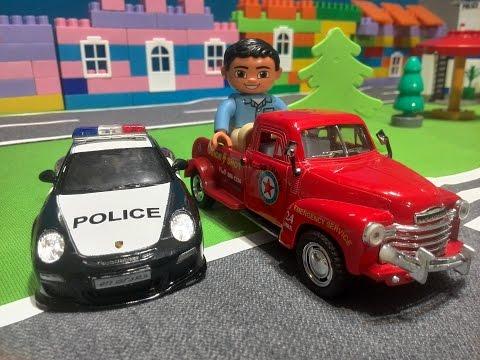 мультфильм про полицейскую машину которая ловит преступников