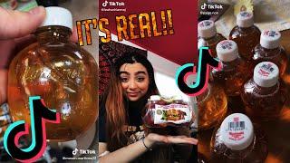 bottle that sounds like an apple best tik toks!! Martinelli's apple juice bottle tik toks!