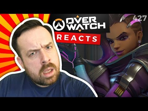 Sombra Reaction: Overwatch Song Toxic + Widowmaker & S Have A Casual Conversation + S Update!