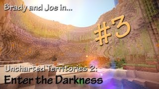Minecraft UT2: Enter the Darkness - Episode 3 - Silverfish...? Dangit.