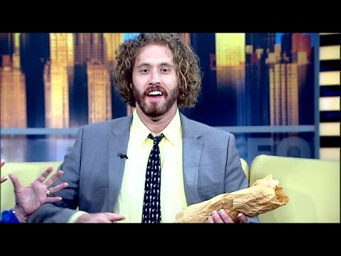 News anchors can't control T.J. Miller