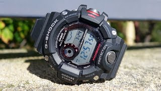 Casio G-Shock GW-9400 Rangeman Review & Quick Feature Comparison with Mudmaster - Perth WAtch #59