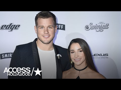 Aly Raisman & Colton Underwood On How They Spent Valentines Day   Access Hollywood