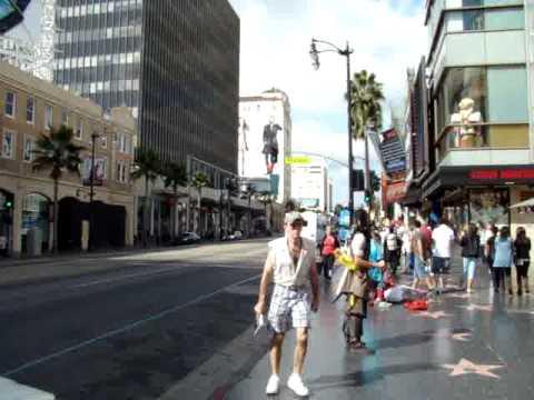 Hollywood Boulevard Kodak Theater Los Angeles