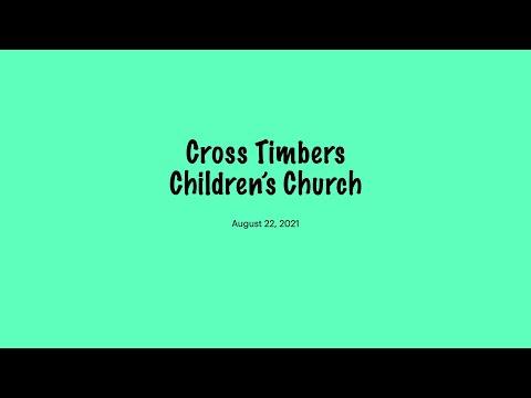 August 22, 2021, Children''s Church