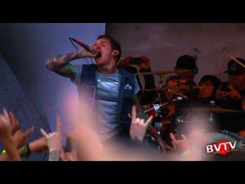 "The Devil Wears Prada - ""Escape"" & ""Anatomy"" Live in HD! at Warped Tour 2011"