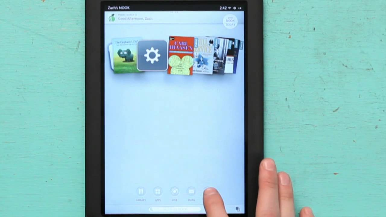 How to Buy a Game on a NOOK  NOOK Tips  YouTube
