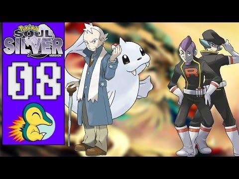 Pokémon Soul Silver #08 - BATALHA CONTRA PRYCE/O FIM DA EQUIPE ROCKET (1080p/2016)