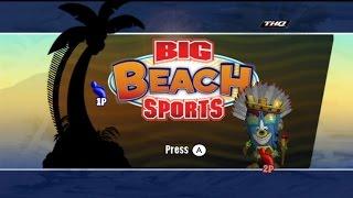 Big Beach Sports Wii Gameplay