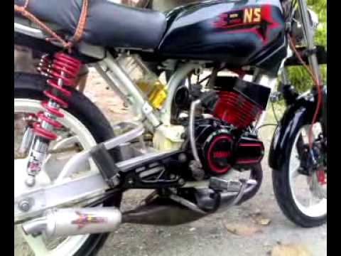 20 Modif Yamaha Rx King Airbrush Terbaik Modifmotor Mm Doovi