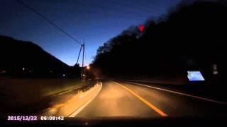 2015年12月22日(火) 6時10分頃 埼玉県長瀞町にて 火球を目撃。 0:20 くらいのとこ。