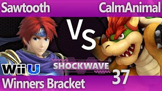 SW 37 Wii U - Sawtooth (Roy, MiiBrawler) vs CalmAnimal (Bowser, Roy) - Winners Bracket