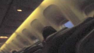 video blog interrupted by air canada