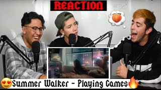 Summer Walker - Playing Games (With Bryson Tiller) [Official Video] REACTION