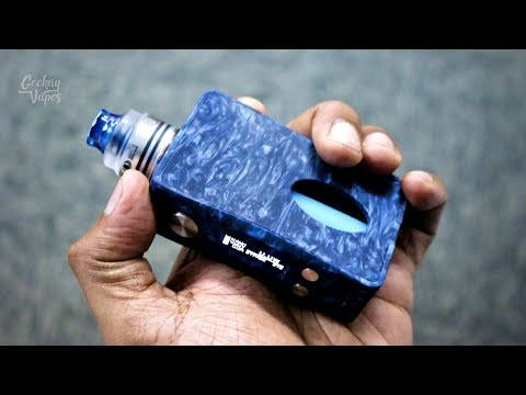 Aleader Killer 80w Resin Squonk Mod - Awesome!