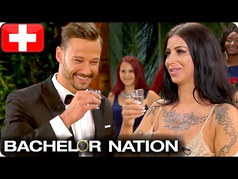 Clive Takes Shots At Rose Ceremony   The Bachelor Switzerland